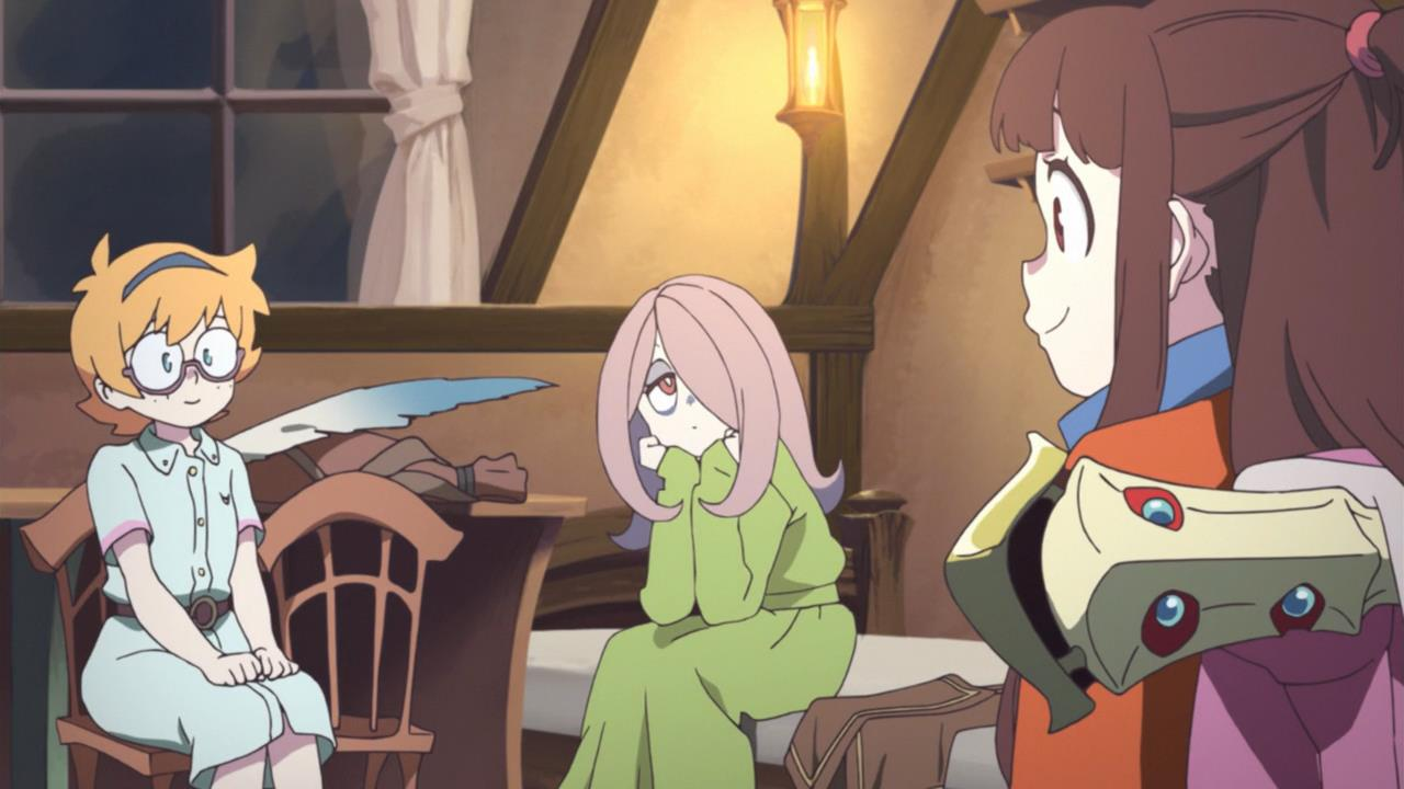 Little Witch Academia Odcinek 1 Blog Tanuki Pl